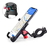 """homeasy Bike Phone Mount Universal, Bicycle Holder Handlebar Cellphone Adjustable Fall Prevention, Fits iPhone Xs