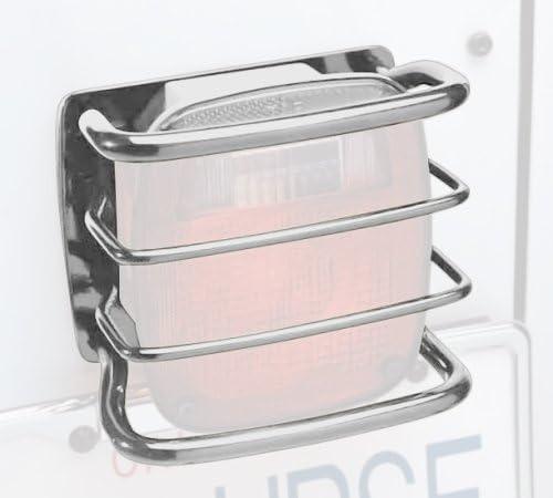 Smittybilt 8665 Euro Stainless Steel Rear Taillight Guard