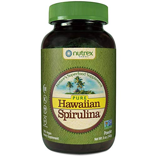 NUTREX Hawaii SPIRULINA Powder, 5 OZ