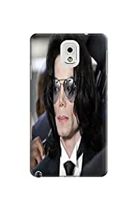 2014 most stylish pattern tpu phone back case cover with texture for Samsung Galaxy note3(Michael Jackson) by Kathleen Kaparski