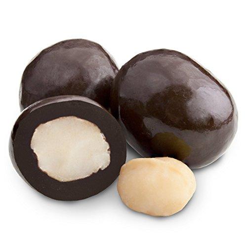 2 Lb Macadamia Nuts (Albanese Dark Chocolate Macadamia Nuts, 2LBS)