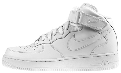 Nike Mens Air Force 1 Mid Basketball Shoes, 8.5 D(M) US