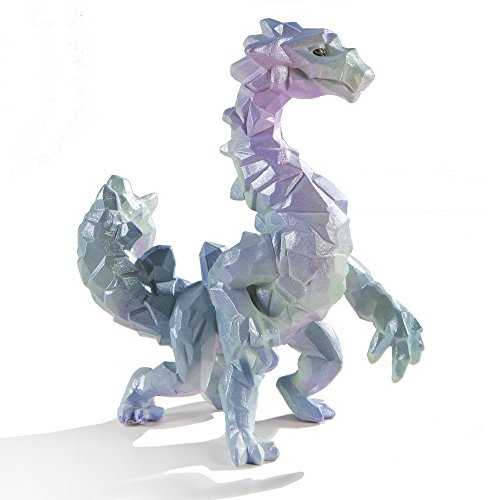 Safari Ltd - Crystal Cavern Dragon - Realistic Hand Painted Toy Figurine Model - Quality Construction from Safe and BPA Free Materials - For Ages 3 and Up