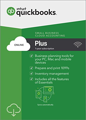 QuickBooks Online Plus 2018 - Small Business Accounting [PC/Mac Online Code]