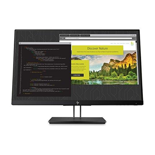 HP Z Display 23.8-Inch Screen LED-Lit Monitor Black Pearl (1JS07A8#ABA)