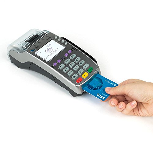 Verifone VX520 Dual Comm Credit Card Machine- With Smart Card Reader - NEW MERCHANT ACCOUNT (Credit Card Processing Machine)