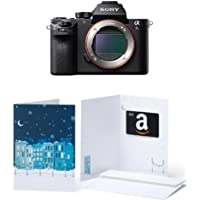 Sony a7S II ILCE7SM2/B 12.2 MP E-mount Camera with Full-Frame Sensor, Black w/ $200 Gift Card