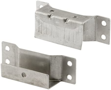 Prime-Line Products PL 8146 7/16インチ ソーラー スクリーン ハンガー ブラケット ミル (2個パック)