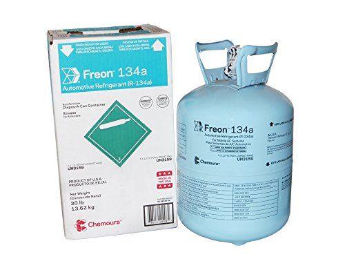 Suva R134a Refrigerant/Freon - 30lb. Can - Factory Sealed