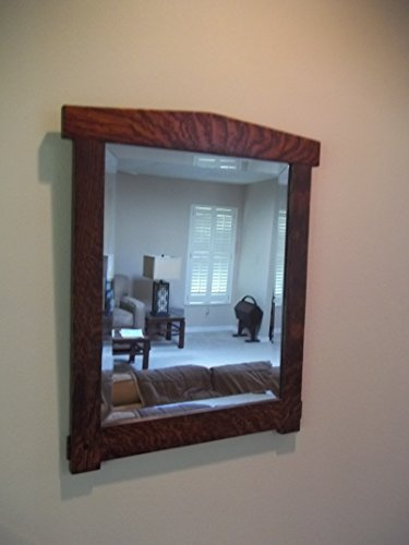 Arts and Crafts Wall Hanging Mirror 16