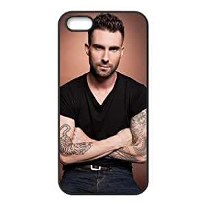 iPhone 4 4S Case Adam Levine VM_D6628 Personalized Clear Cell Phone Case