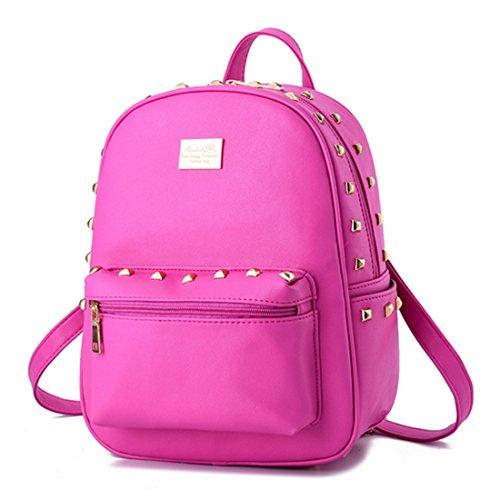 FOLLOWUS - Bolso mochila  para mujer, negro (negro) - G72241B rosa (b)