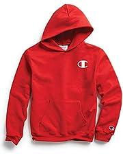 Champion Boys Unisex-Child OS790A Graphic Fleece Hoodie Hooded Sweatshirt