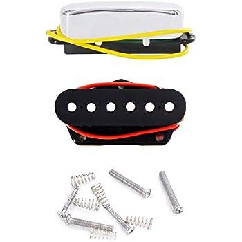 Chrome Fender Tex-Mex Tele//Telecaster Single Coil Pickups Set