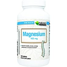 Nature's Wonder Magnesium 400mg Tablets 120 count
