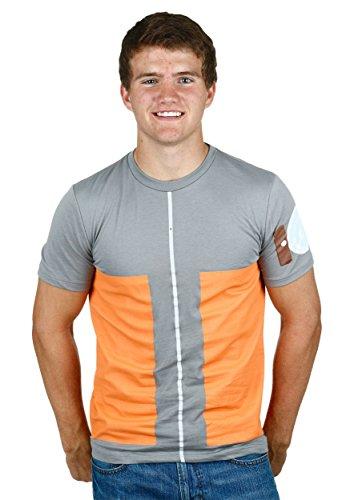 I Am Naruto Costumes Shirt - I am Naruto Crewneck Gray Costume