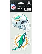 WinCraft NFL 2 Pegatinas troqueladas, 10 x 20 cm