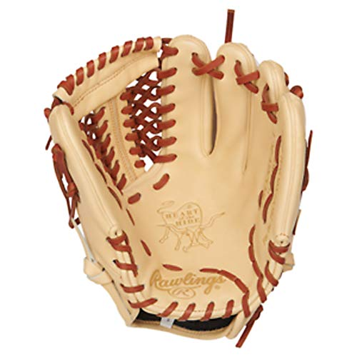 Rawlings PRO205-4CT-RH Heart of The Hide, Camel, 11.75