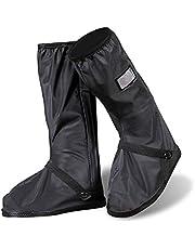 Protector de Zapatos ,Impermeable Cubiertas de Zapatos Lluvia nieve cubrebotas para hombre o mujer - Exteriores bicicleta motocicleta cubrebotas - Viaje Reusable con cierre cubre zapatos lluvia traje/equipo (1 par)