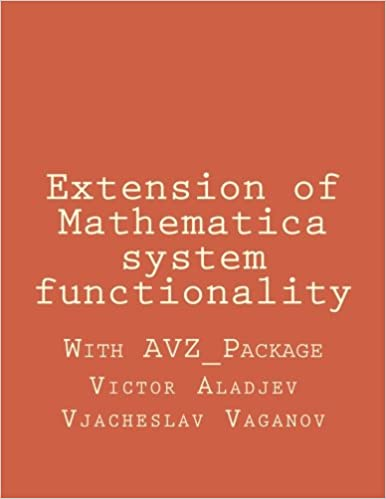 Extension of Mathematica system functionality: Victor Z