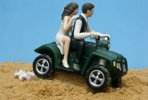 ATV Camo Wedding Cake Topper by Magical Day by Magical Day (Image #3)