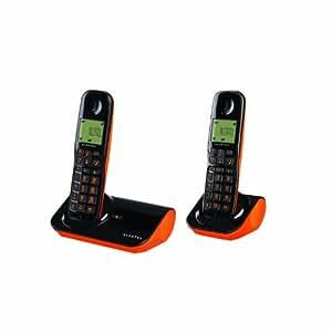 Alcatel Sigma 260 DUO - Teléfono fijo inalámbrico, 2 terminales