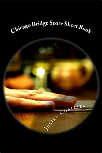 Chicago Bridge Score Sheet Book: 200 Pages (100 Sheets): Amazon.Co