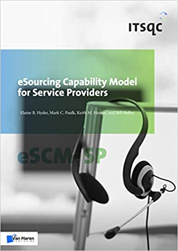 amazon com esourcing capability model for service providers escm