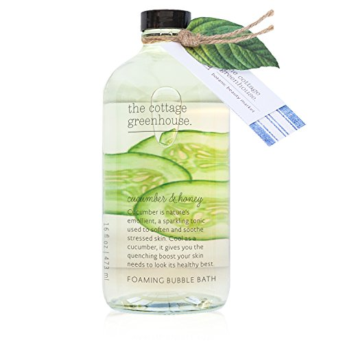 The Cottage Greenhouse Cucumber & Honey Foaming Bubble Bath