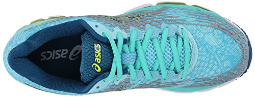 asics gel-nimbus 17 womens running shoes aqua splash