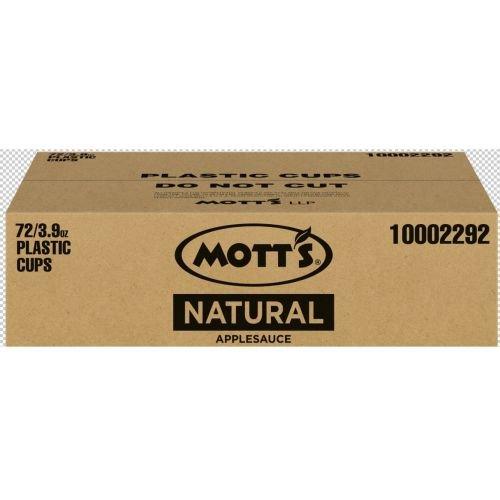 Applesauce Natural No Sugar by Mott's