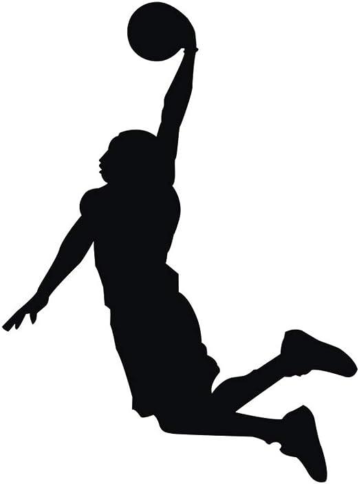 Jugador de Baloncesto Chicos Personalizado Nombre Mural Pegatina ...