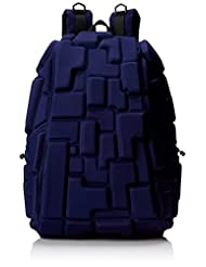 Mad Pax KZ24484247 Blok Full Backpack, Navy, One Size