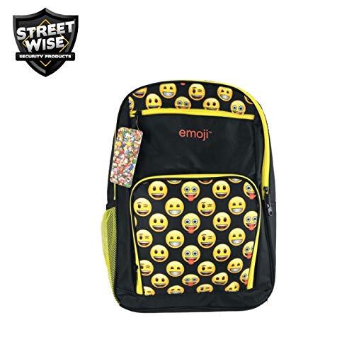 Streetwise Emoji Bulletproof Backpack Yellow