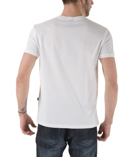 Courtes Homme Blanc Manches Taille 9 Basic Industries Normale T Alpha 100501 shirt zv8nq