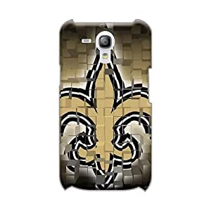 Protector Hard Phone Cases For Samsung Galaxy S3 Mini With Allow Personal Design Stylish New Orleans Saints Pattern ElijahFenn