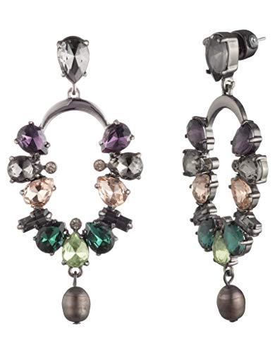 Carolee Women's Stone Cascade Drop Earring