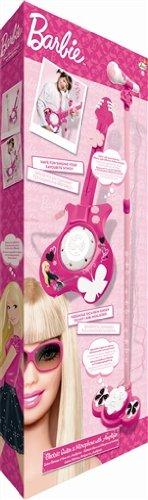 IMC 783959 Barbie - Guitarra eléctrica y micrófono de juguete, color rosa