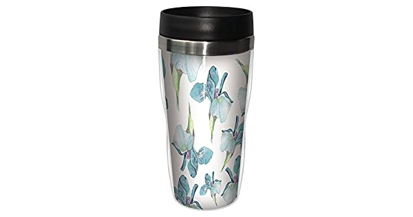 16-Ounce Tree Free Tree-Free Greetings SG25147 I Heart Airedale Terriers Sip N Go Stainless Lined Travel Tumbler