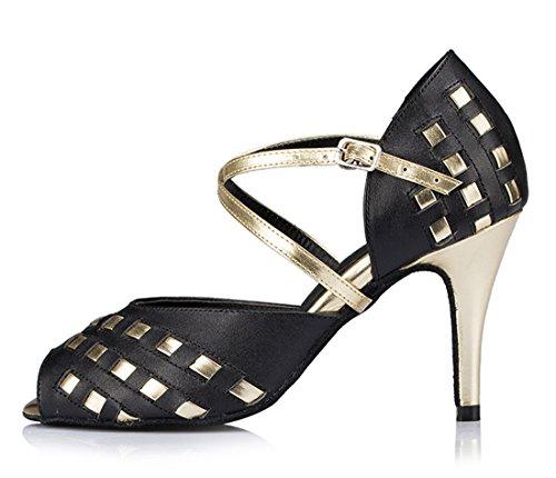 8 TDA Heel con 5cm Black Zapatos mujer tacón wIaBq4IS