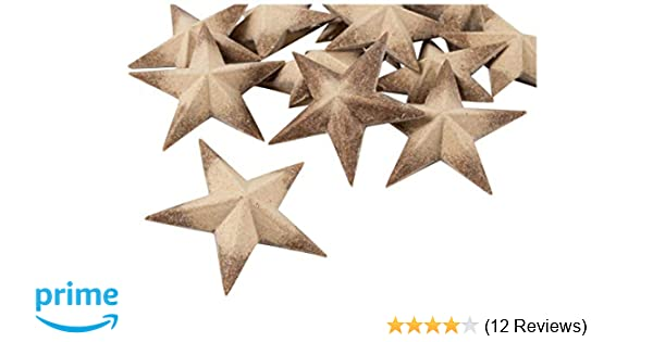 3d Wood Star 12 Pack Unfinished Wooden Star Star Pieces Craft Stars Diy Star For Ornament Kids Art Christmas Tree Holiday July 4th Baby