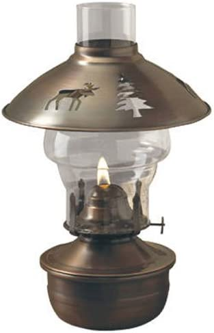 Lamplight Farms 50840Montana–lampe à huile de 28cm pour intérieur 1 bronze