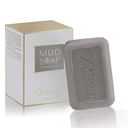 Premier Dead Sea Classic Mineral Mud Soap, Healthy & glowing skin