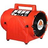 "Air Systems CVF-8AC 1/3 HP 8"" Contractor Grade Axial AC Ventilation Fan"