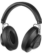 Cuffie Over-Ear Bluedio TM Bluetooth 5.0 Controllo vocale Cuffie stereo senza fili per musica e chiamata, microfono incorporato (giallo)
