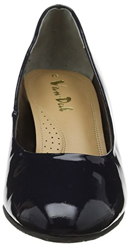 Van Dal Women's Watt Closed-Toe Heels Blue (Marine Navy Patent) sale best seller urjHWX3X