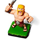 Supercell Clash Royale/Clash of Clans Barbarian Figure, Official Collectible