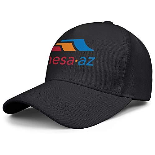 Classic Snapback hat for Men Mesa Arizona City Logo hat dad Baseball Cap Unisex Adjustable Ball caps for Women