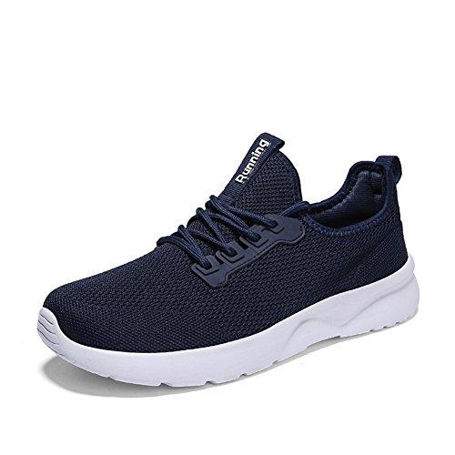 Running de TORISKY Chaussures Femme Sneakers Casual Shoes Baskets Sport Homme Bleu Gym Sqzaa7
