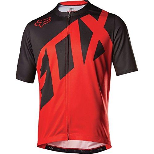 Fox Racing Livewire Jersey - Short Sleeve - Men's Red, M ()